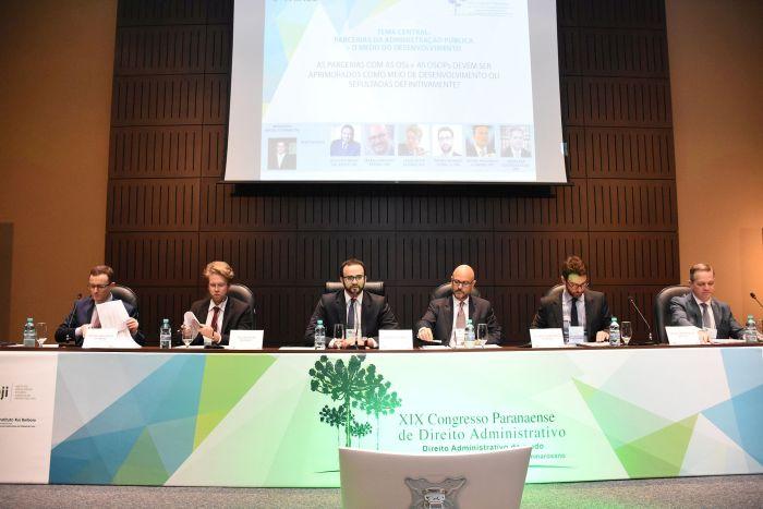 Organizações de sociedade civil são objetos de debate em Congresso de Direito Administrativo