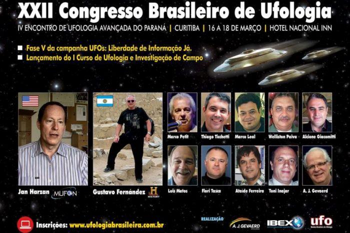 Ufólogos apresentam pesquisas sobre alienígenas e fenômenos extraterrestres em congresso de Ufologia