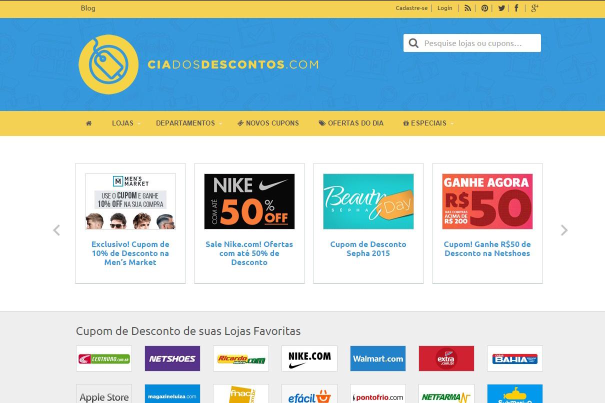Primeiro site brasileiro de cupons de descontos comemora resultados