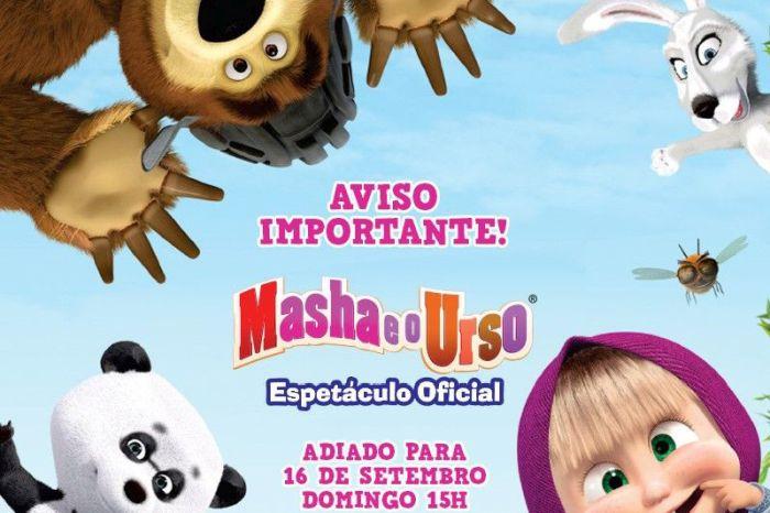 Masha e o urso é cancelado em Curitiba devido à greve dos caminhoneiros