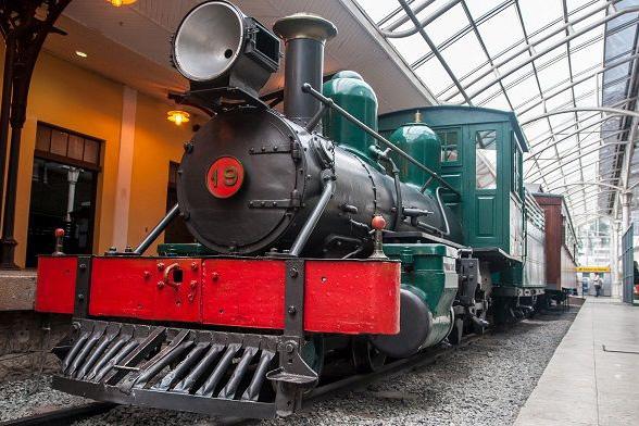 Histórias de trem para os pequenos na Maria Fumaça