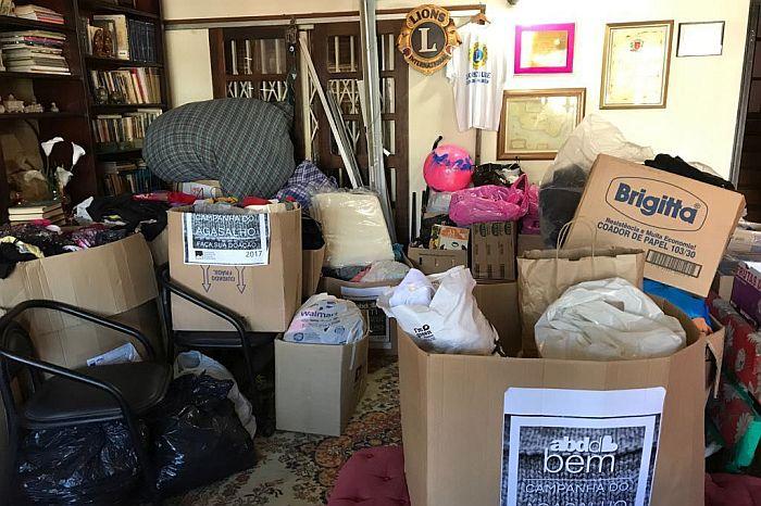 ABD-PR encerra campanha de arrecadação de agasalhos