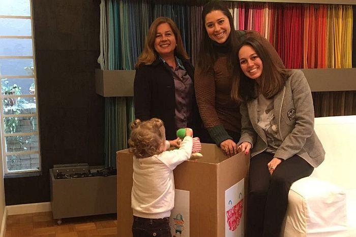 ABD-PR ajuda a doar sorrisos a crianças beneficiadas pelo Lions Clube de Curitiba Mercês