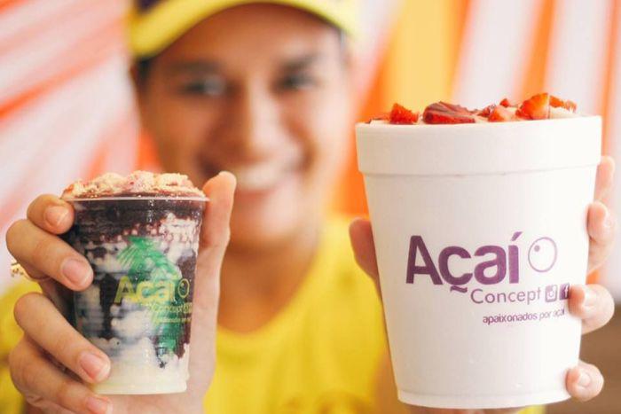Açaí Concept oferece ingredientes Premium na cidade de Curitiba