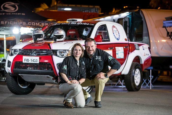 Marcelo e Luciani Maronezi têm carro afinado para estreia no Rally dos Sertões