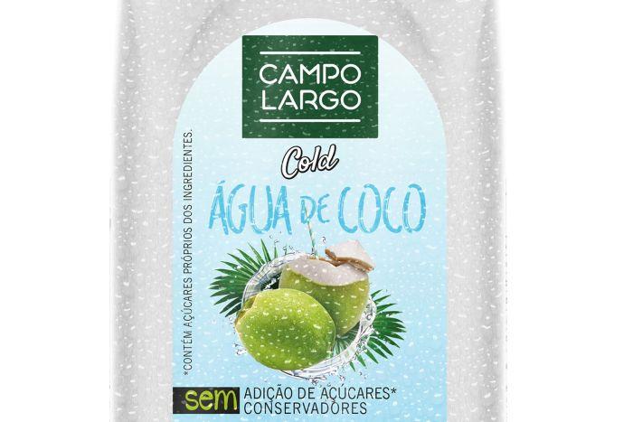 Água de coco envasada em pet asséptico reforça oferta de bebidas saudáveis da marca Campo Largo
