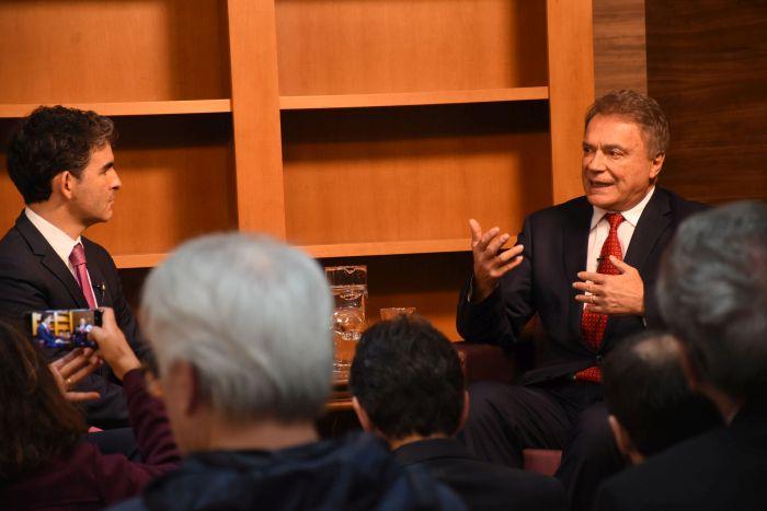 """""""Aplicação de recursos na justiça não é despesa, é investimento"""" diz Alvaro Dias na APAJUFE"""