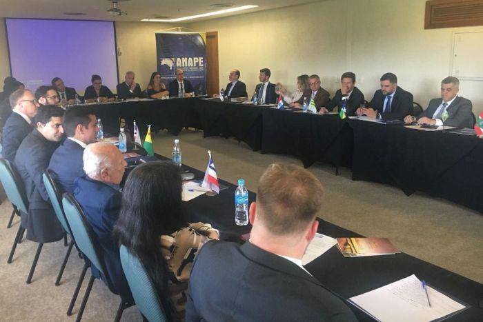 Presidente da APEP participa de Conselho da ANAPE em Porto Alegre