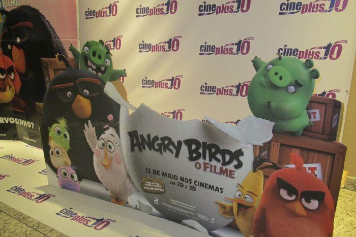 Pré-estreia de Angry Birds