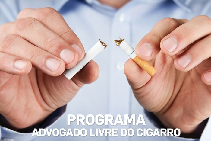 Projeto antitabagismo da CAA/PR inicia dia 4 de julho no Edifício Maringá