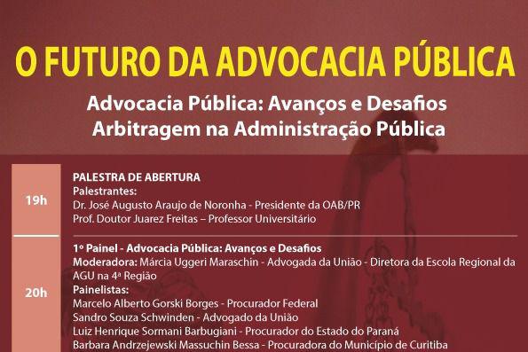 Procuradores do Estado debatem o futuro da Advocacia Pública na OAB Paraná
