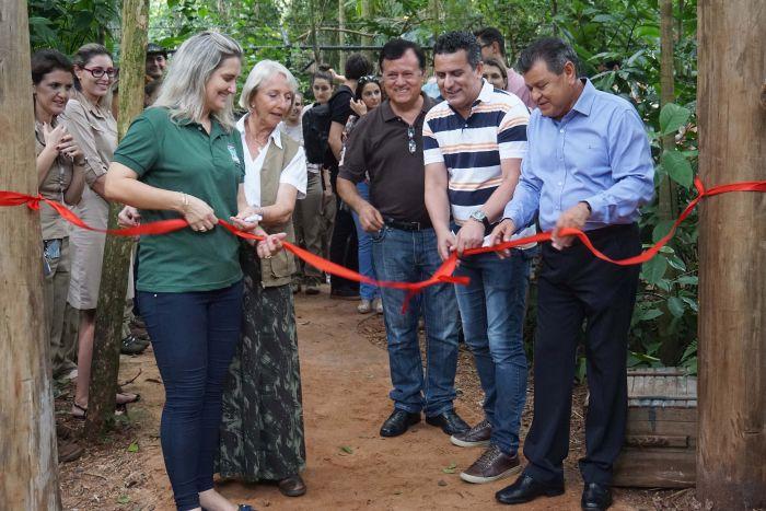 Parque das Aves inaugura novo espaço