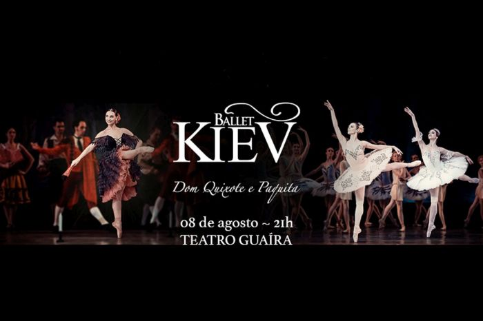 Parceria da CAA/PR garante 50% de desconto para assistir Ballet Kiev