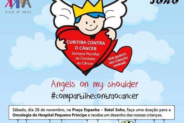 Batel Soho na semana solidária contra o câncer em prol do Hospital Pequeno Príncipe