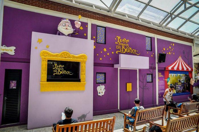 Teatro Dr. Botica estende programação cultural nas férias escolares