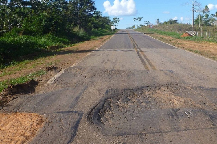 Maior parte da extensão de rodovias avaliadas tem problema