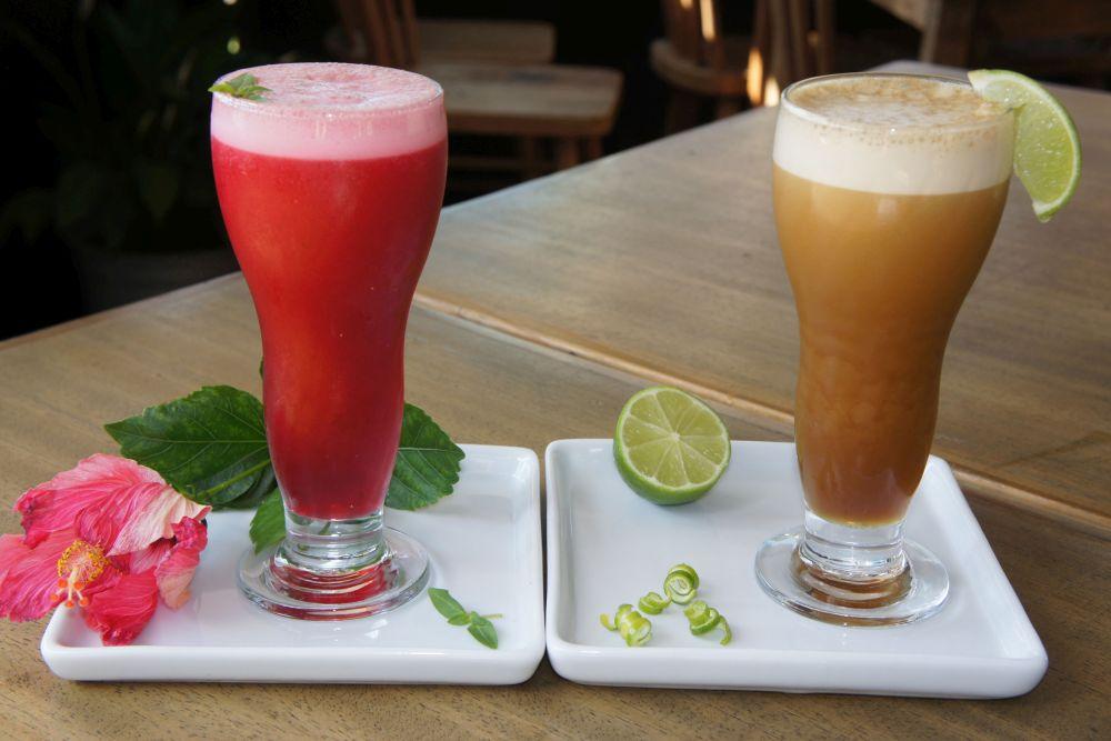Brasiléa Café oferece opção de chás refrescantes e naturais