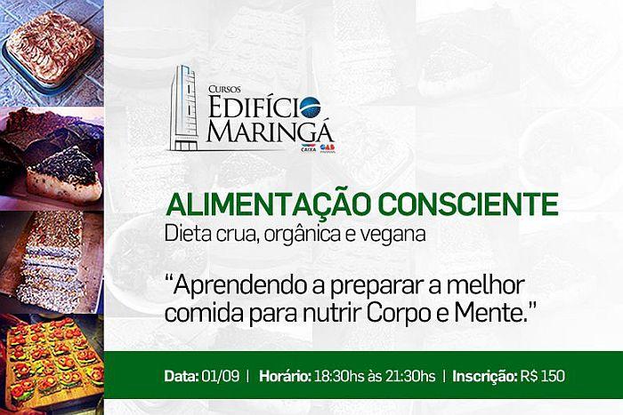 CAA promove curso de alimentação consciente no Edifício Maringá