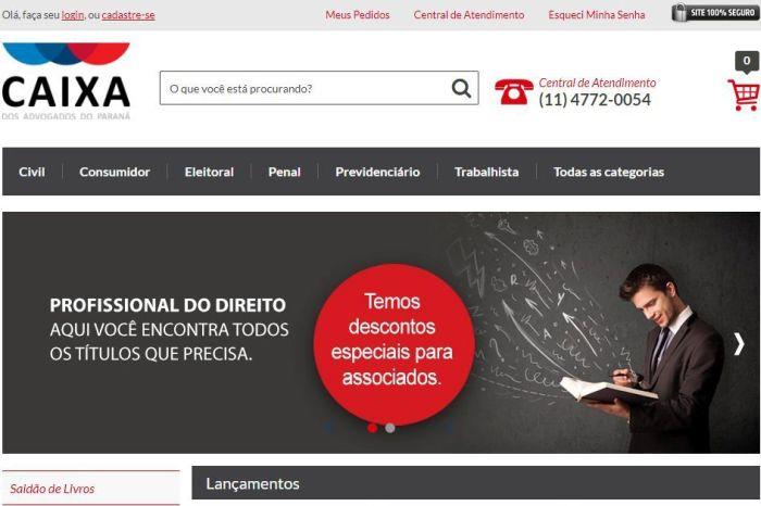 CAAs do Sul do Brasil lançam Livraria Virtual com vantagens exclusivas para advogados