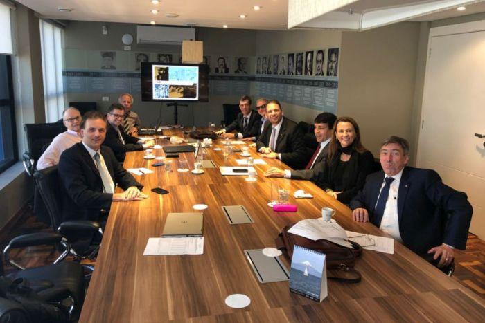 Caixa dos Advogados e OAB se reúnem com diretoria da OABPrev-PR