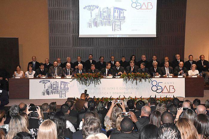 Diretoria da CAA-PR presente nas comemorações dos 85 anos da OAB Paraná