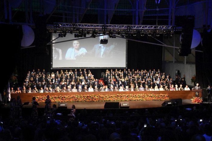 Diretoria da CAA/PR toma posse em cerimônia no Teatro Ópera de Arame