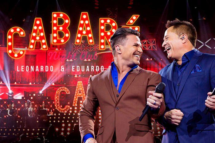 Eduardo Costa e Leonardo apresentam 'Cabaré' em Curitiba