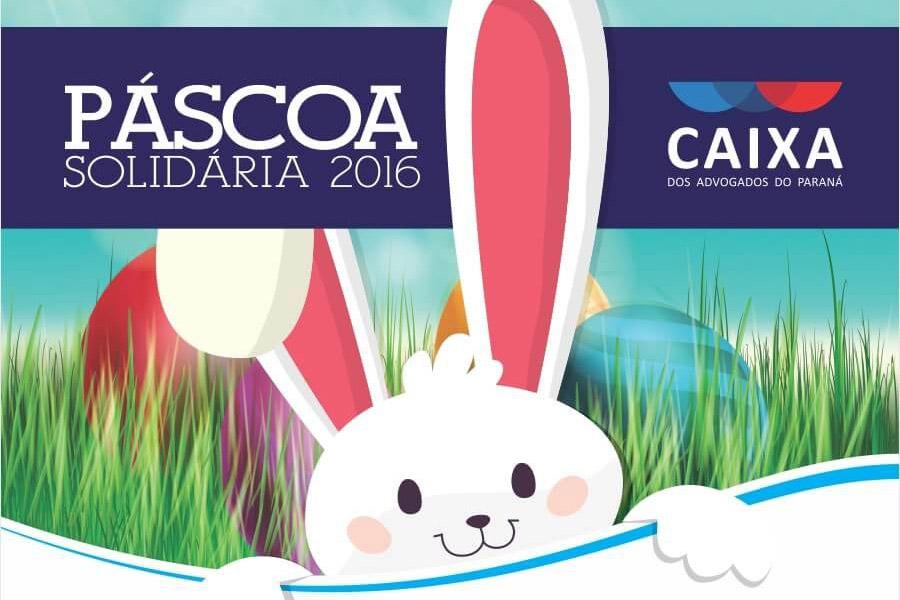CAA-PR promove campanha de Páscoa para beneficiar crianças de baixa renda