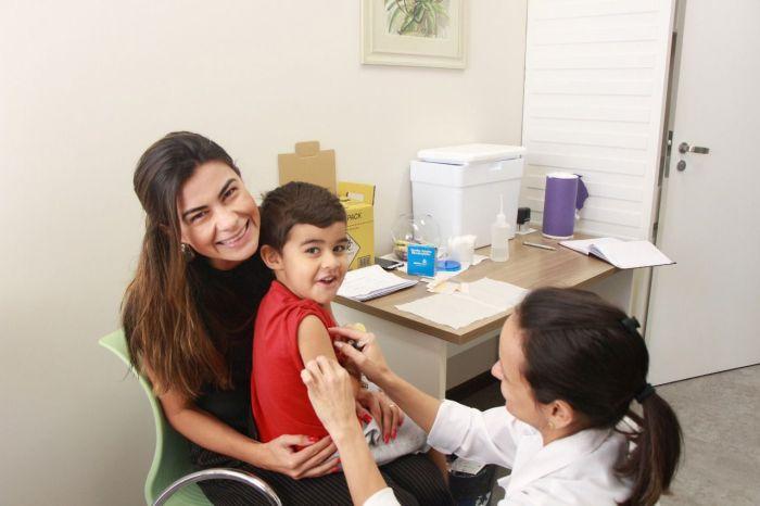 Campanha antigripal da CAA/PR beneficiou 20 mil pessoas em 2018