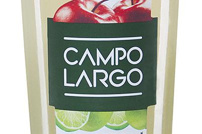 Campo Largo Limão é o primeiro suco de limão do mercado brasileiro adoçado com suco de maçã integral
