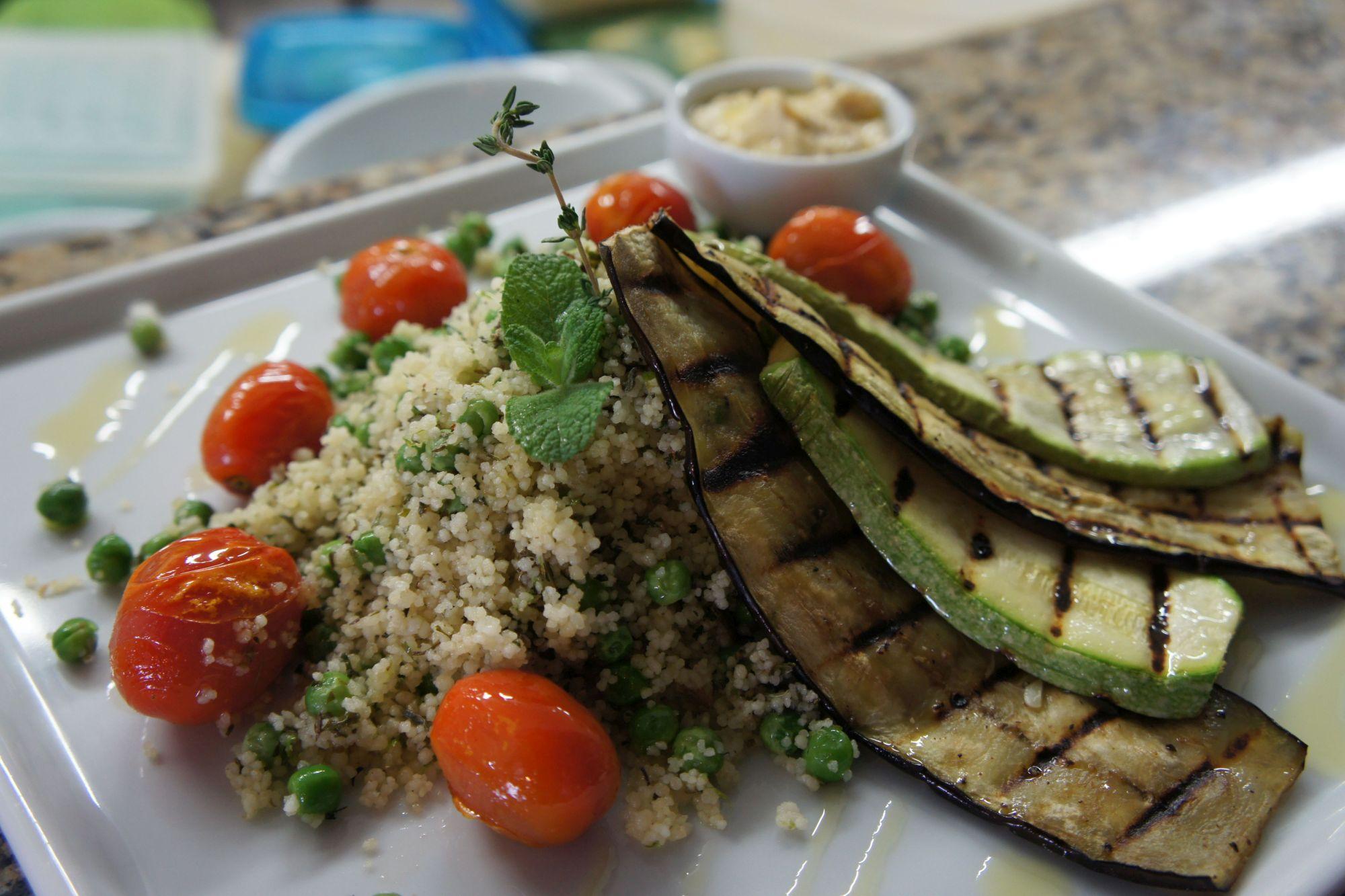 Vegetarianos inspiram pratos no Brasiléa Café & Restaurante
