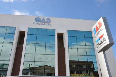 OAB Cascavel ganha o Escritório Compartilhado da CAA/PR no próximo dia 16 de março