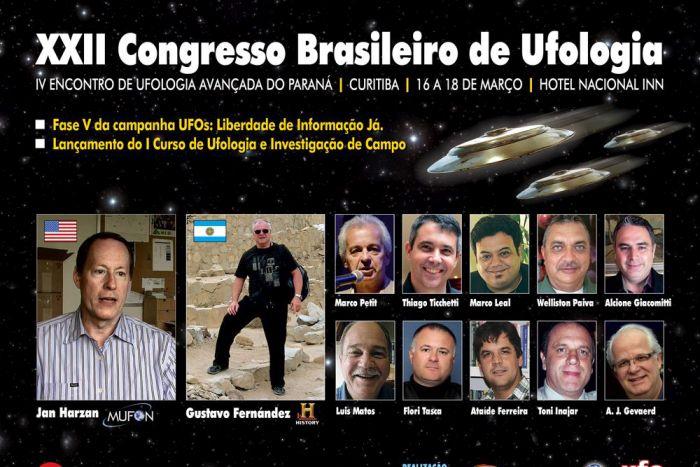 Tecnologia alienígena e casos reais de contato extraterrestre são destaques em congresso de Ufologia