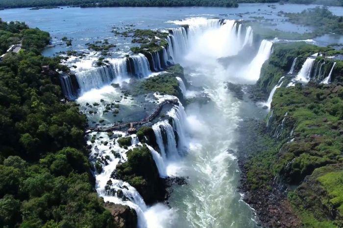 Cataratas do Iguaçu bate recorde histórico de visitação