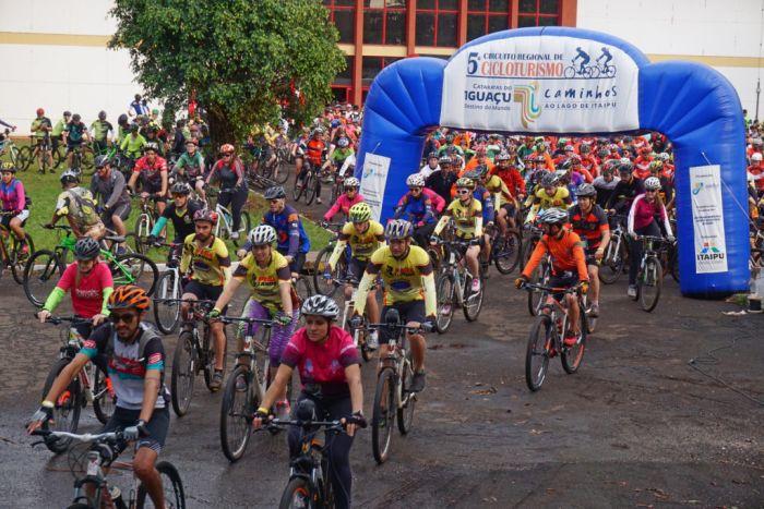 Próxima etapa do Cicloturismo será em Foz do Iguaçu no dia 20 de maio