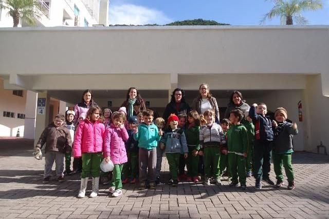 Bombinhas Summer Beach recebe alunos da rede municipal no projeto