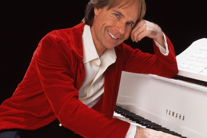 Richard Clayderman domingo no Guairão