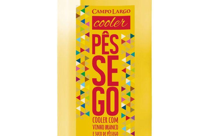 Cooler de Pêssego da Famiglia Zanlorenzi ganha nova roupagem e mantém suavidade no sabor