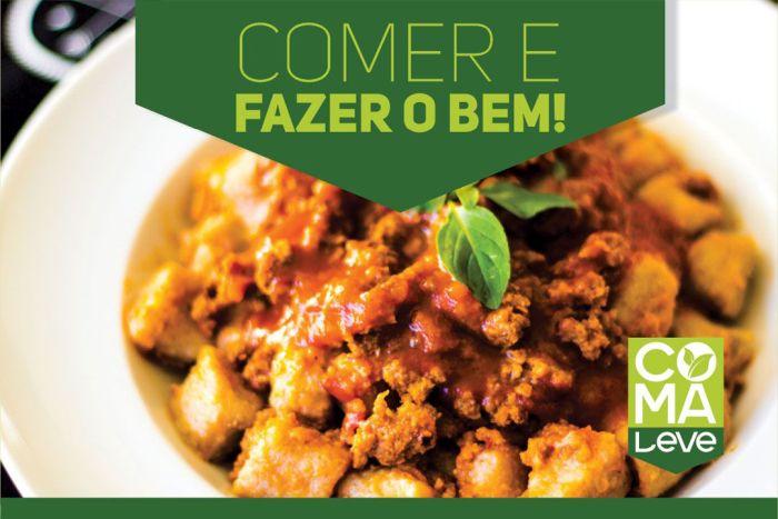 Dia COMA LEVE Feliz será em prol do Instituto Bom Aluno do Brasil