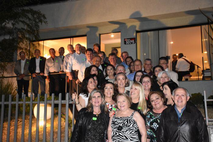 Jantar comemora os 40 anos de turma da Faculdade de Direito a UFPR