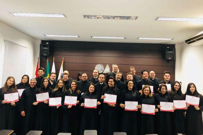Delegado da CAA/PR participa de compromisso coletivo em Palmas