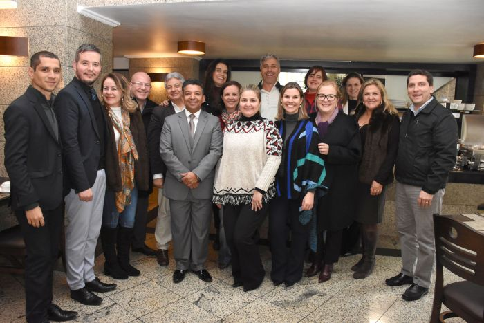 Confraternização dos procuradores municipais de Curitiba pelo Dia do Advogado