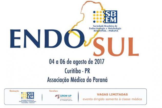 Congresso de Endocrinologia traz a Curitiba médicos da Região Sul