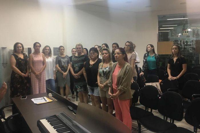 Coral OAB Maringá iniciou atividades com cerca de 40 integrantes