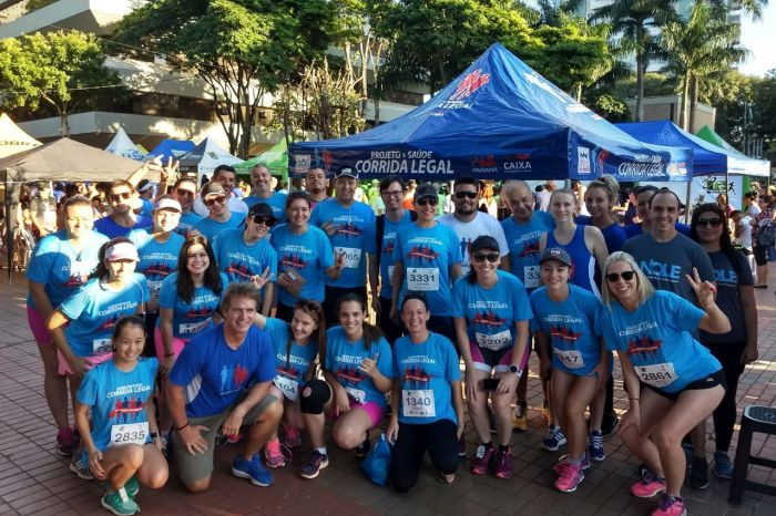 Com apoio da CAA/PR, mais de 200 advogados disputaram tradicional corrida de rua em Maringá