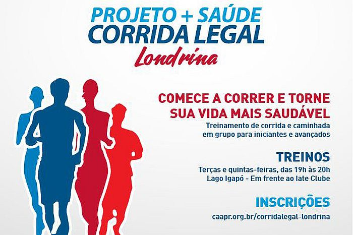 Corrida Legal será implantada em Londrina nesta quinta-feira