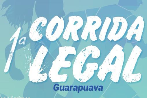 Abertas as inscrições para a 1º Corrida Legal de Guarapuava, com apoio da CAA/PR e OAB