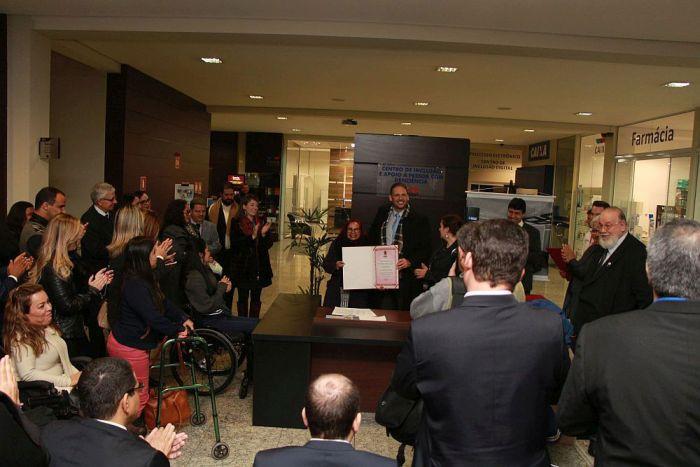 CAA/PR participou do II Fórum Nacional sobre os Direitos da Pessoa com Deficiência