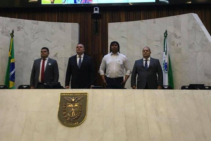 CREF9/PR marca presença em sessão na Assembleia do Paraná em homenagem ao Dia do Atleta