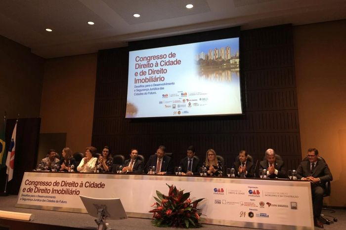 APMC marca presença em Congresso de Direito à Cidade e de Direito Imobiliário na OAB Paraná